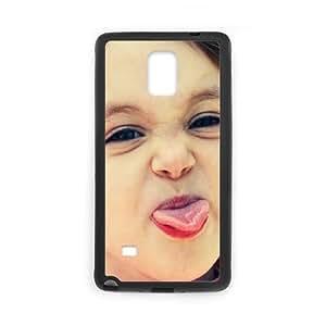 Cute Girl Samsung Galaxy Note 4 Cell Phone Case Black LMS3913009