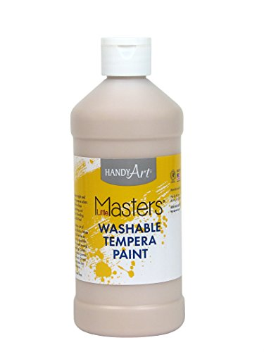 Handy Art Little Masters Washable Paint 16 ounce, Peach