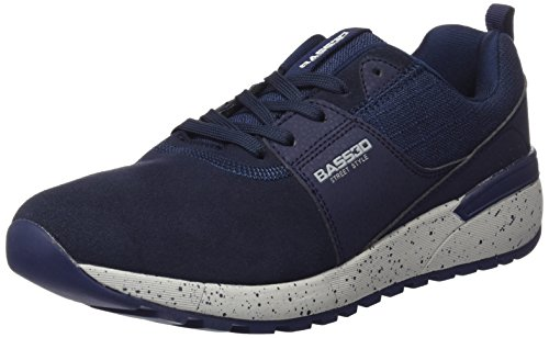 Black Trainers 040150 Navy Men's bass3d Blue xS6q7gt
