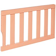 Dream On Me Universal Convertible Crib Toddler Guard Rail, Fusion Coral