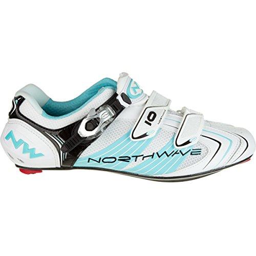 Ciclismo Evolution Northwave b s Bianco 2012 S Da turchese Scarpa Colore 6AqFUR