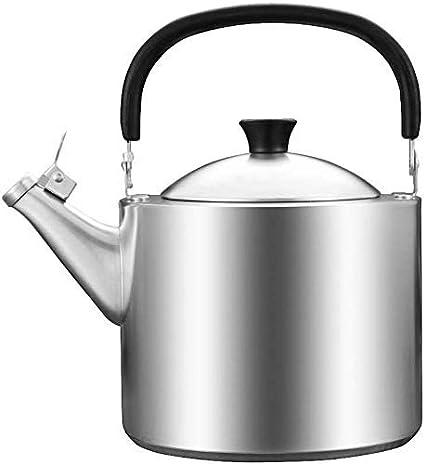 CENPEN Peroles de Acero Inoxidable de 3,5 litros Grueso Compuesto Inferior del hogar Botella Cocina de Gas Gas Agua Caliente