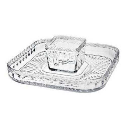 Godinger 34231 Belmont Dinnerware Belmont Chip and Dip,