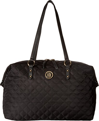 Tommy Hilfiger Womens Quilted Weekender