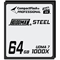 Hoodman Steel 64GB CompactFlash Card 1000X