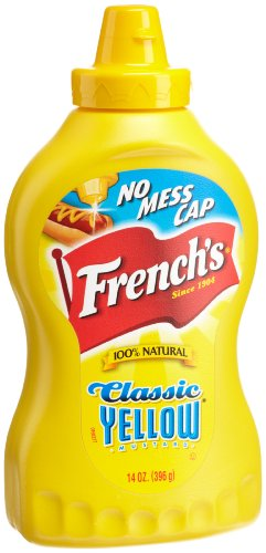 French's Classic Yellow Mustard, 14-Ounce Squeeze Bottles (Pack of 8)
