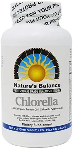 CHLORELLA EXTRACT Growth Factor 100x Concentrate – 100 LB of Chlorella 1 LB of Chlorella Extract CGF Powder. Only Take One a Day Raw Vegan Organic Non-GMO Chlorophyl Green Superfood in VegiCaps 1