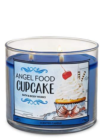 Bath & Body Works Angel Food Cupcake 3-Wick Candle