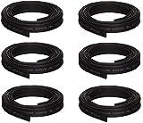 "Dorman 85266 Black 1/4"" X 8' Heat Shrink Tubing (Quantity 6)"