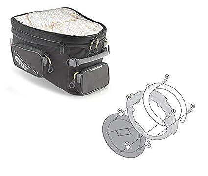 Bolsa GIVI EA118 + Brida BF24: Amazon.es: Coche y moto