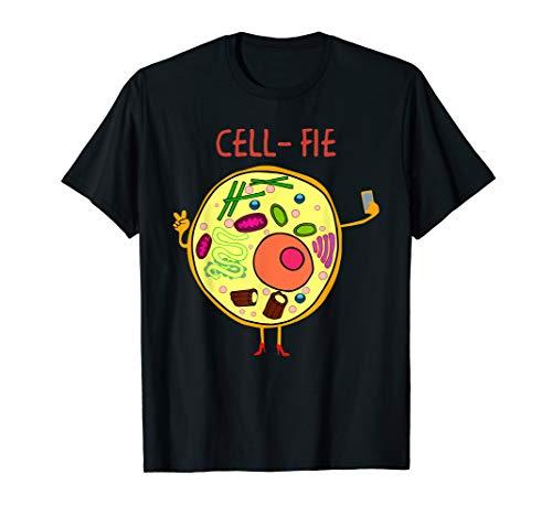 Selfie Cell Fie Shirt Funny Science Teacher T Shirt Gifts