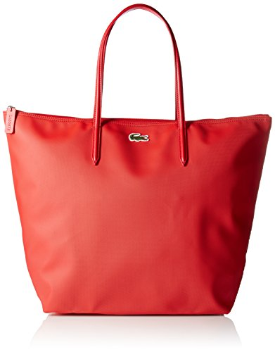 LACOSTE L.12.12 Concept Travel Shopping Bag Salsa