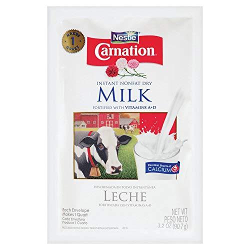 Nestle Carnation Instant Nonfat Dry Milk (Pack of 4)