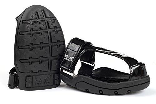Spruns Spike Protectors, Track Shoe Covers (Black) (Medium)