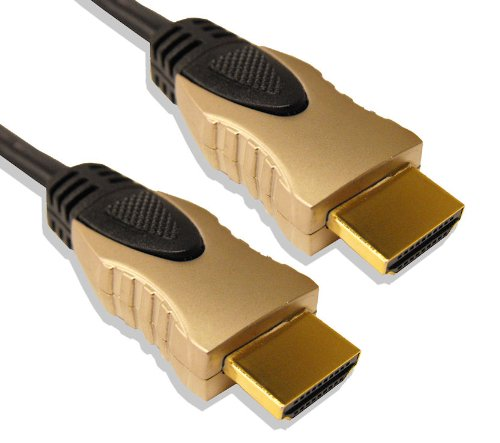 Cable Mountain 0.5m Ultimate High Speed HDMI V2.0 Ultra HD 4K & 3D Cable with Ethernet and ARC