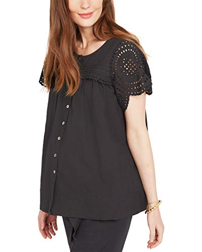 (Hatch Womens Collection The Pilar Top, Size 1 Black)