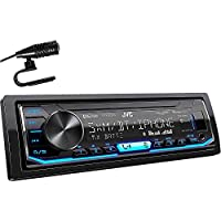 JVC KD-X360BTS 1-DIN Bluetooth Car Stereo Receiver