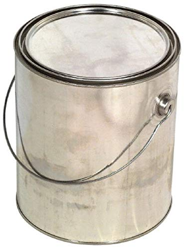 Made in USA -1 Gallon Cylindrical Tin Can 2 Cans per Pack - 2/Case