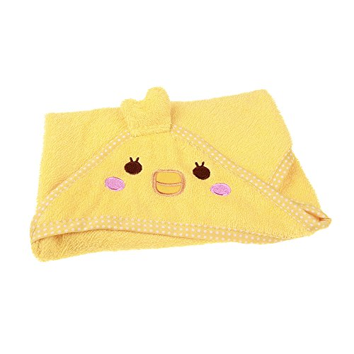 STAR-TOP Cute Bath Towels For Cleaning Dogs & Cats Multifunction Absorbent Pet Bath Towel Animal Puppy Cat Warm Blanket Pet Supplies (Yellow-duck)