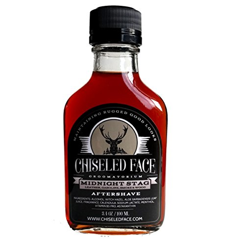 - Midnight Stag Aftershave Splash By Chiseled Face Groomatorium - Handmade, Small Batch, Luxury Grooming Products