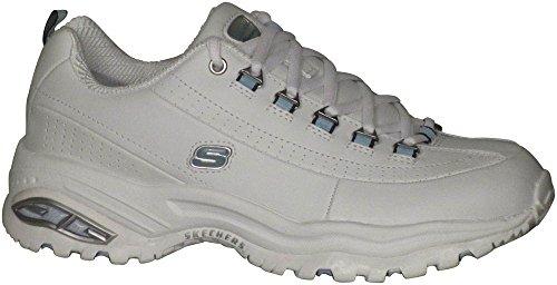Skechers Sport Premium Vedere Doppia Donna Sneaker Bianco / Blu