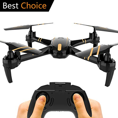 Remokids RC Quadcopter Drone 2.4Ghz 4CH 6-Axis Gyro, Night Light Mode, 12-15 Min Long Time Flying, One-Key Return, Headless Mode, Altitude Hold, 3D Flips, Good for Beginners & Kids