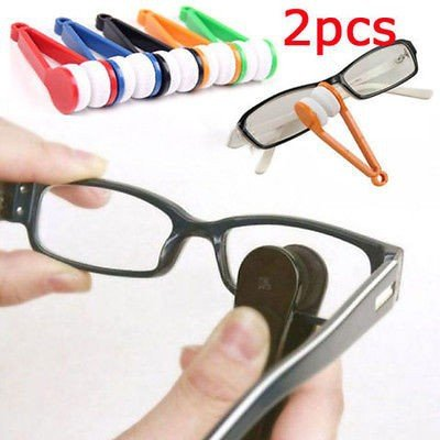 [Money coming shop 2 pcs Mini Sun Glasses Eyeglass Microfiber Brush Cleaner New wholesale Free] (Log Costume)