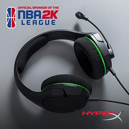 HyperX CloudX Stinger Core - Official Licensed for Xbox, Gaming Headset with In-Line Audio Control, Immersive In-Game Audio, Microphone