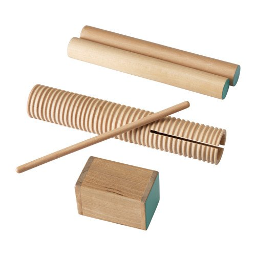 LATTJO Percussion, set of 3--Ikea