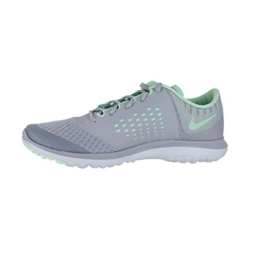 info for 5e838 a915a ... netherlands amazon nike womens fs lite 2 running shoes wolf grey fresh  mint pure platinum 6.5