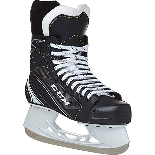 (CCM Unisex SK9040 Player Tacks SR Hockey Skate, Adult, Black, 6D)