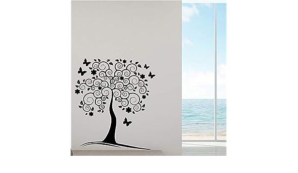 Modeganqingg Hermoso árbol de Vinilo Autoadhesivo Papel Tapiz ...