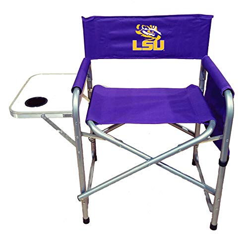 Rivalry NCAA LSU Tigers Directors Chair, Purple, One - Tailgate Lsu Chair Tigers