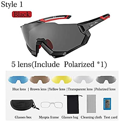Polarized Lens Outdoor Sports Bike Eyewear Cycling MTB Eyewear Sunglasses