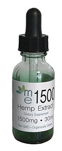 me1500mg Natural Flavor - Organic Blend 100% Hemp Extract Full Spectrum All Active Ingredient Omega 3-6-9- Used For Relief - Anxiety - Inflammation - Arthritis - Lab Tested For Purity - Grown in USA by me1500 Natural