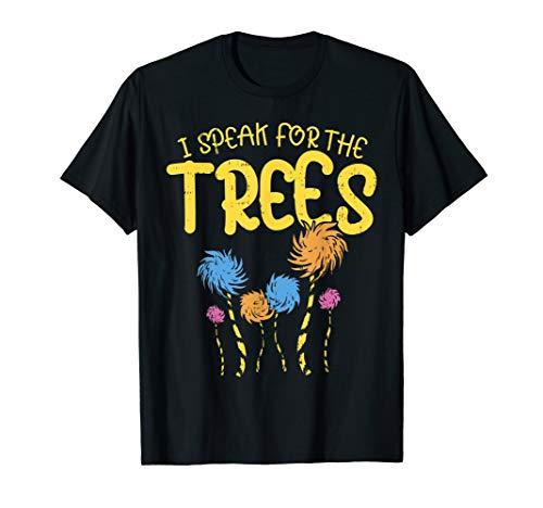 I Speak For The Trees Shirt Earth Day 2019 Kid Boy Girl Gift