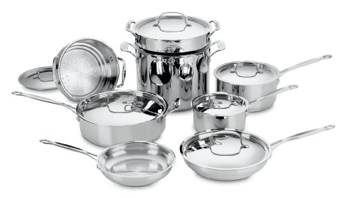 Cuisinart 77 14 Stainless 14 Piece Cookware