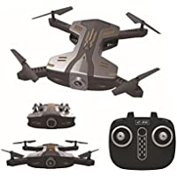 Pocket Selfie Drone, ZLOSKW 2.4G 4CH 6-Axis WIFI FPV Quadcopter With HD 720P Camera ,Foldable Arm Altitude Hold RC Drone, 360 Eversion, Real Time Transmission