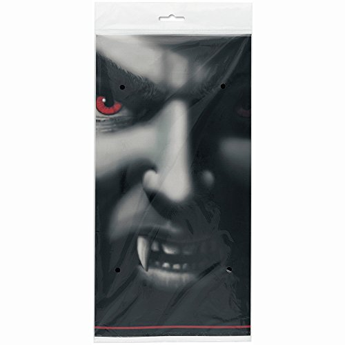 Vampire Halloween Plastic Tablecloth, 84
