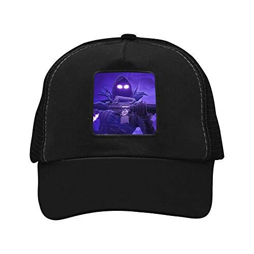 Lpovv4 Men's Gun Fo-rtinte-Raven Hiphop Hat Baseball Cap Snapback Dad Hats for Men Women Youth by Lpovv4 (Image #3)