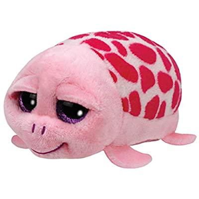 Ty Shuffler Pink Turtle Teeny 4 inch - Stuffed Animal (42145): Toys & Games
