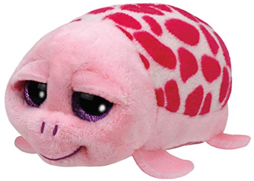 Shuffler Pink Turtle Teeny Tys 4 inch – Stuffed Animal by Ty (42145)