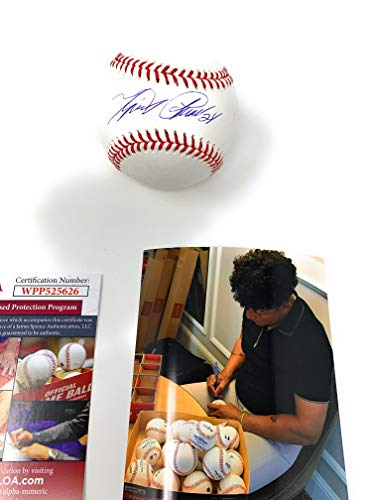 Miguel Cabrera Detroit Tigers Signed Autograph Official MLB Baseball JSA Witnessed Certified ()