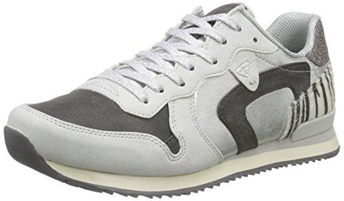 sil Sneaker Grigio 23637 Basse Tamaris 929 blk Comb grau Donna nwCAqdd5Y