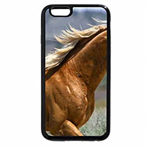 iPhone 6S / iPhone 6 Case (Black) Mustang Stallion