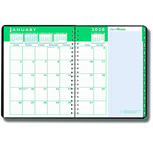 (House of Doolittle 2020 Weekly and Monthly Planner Calendar, Express Track, 5 x 8 Inches, January - January (HOD29402-20))