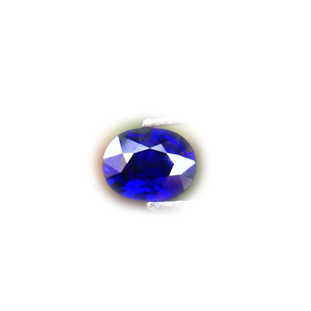 BEAUTIFUL 0.90ct Normal Heated Natural Oval Royal Blue Sapphire Nigeria #AB