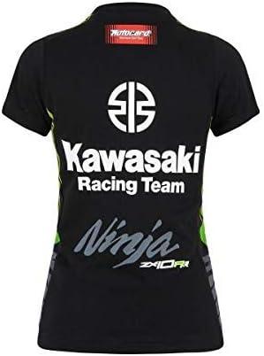 Kawasaki SBK Kids Camiseta Negro/Verde Talla / Talla - Niños 104 ...