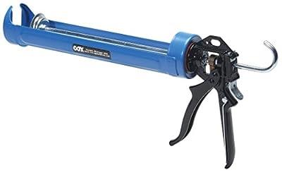 COX 41002 Jumbo Quart 29-Ounce Cartridge Rotating Cradle Manual Caulk Gun