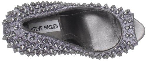 Steve Madden Women'S Awwsome Pump Pewter 8KtjN3fxm